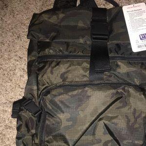 LULULEMON camo backpack